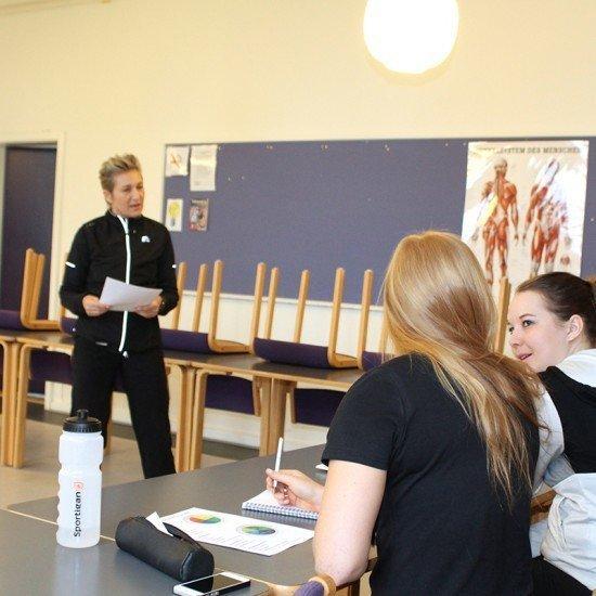 Undervisning med Marina Aagaard
